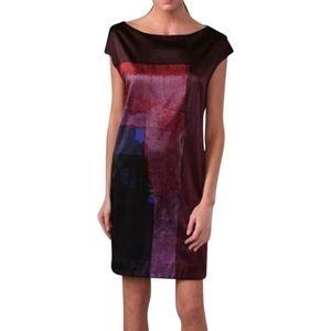 Vince Silk Shift Dress Size Medium